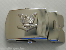 USN Belt Buckle E-4 Petty Officer Third Class 3rd Regulation