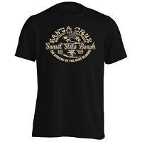 Sunset State Beach Santa Cruz California Men's T-Shirt/Tank Top y185m