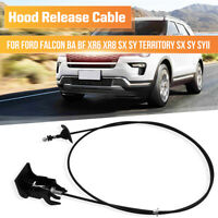 Hood Release Cable For Ford Falcon Fairmont BA BF SX SY XR6 XR8
