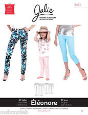 Jalie Stretch Pull-on Jeans 2 Lengths Women & Girls Sewing Pattern 3461 Eleonore