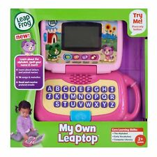Kids Laptop LeapFrog My Own Leaptop Educational Learning Computer Toddler Pink