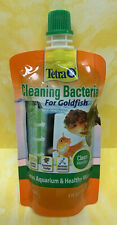 Tetra Cleaning Bacteria 4 Ounces, For Goldfish ~ Clean Monthly  NEW