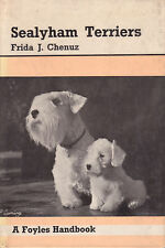 SEALYHAM TERRIERS Frida J Chenuz Revised Edition **GOOD COPY**