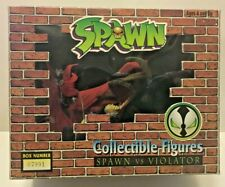 Spawn Vs Violator Collectible Figures; McFarlane 1994 Todd Toys