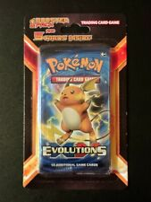Pokemon XY Evolutions Booster Plus 5 Card Blister Pack Brand New Factory Sealed