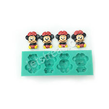 Minnie Mouse cake fondant icing soap chocolate ice resin silicone mould
