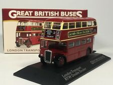 ATLAS 1:76 Scale Bus Great British Buses LONDON TRANSPORT RTW DOUBLE DECKER