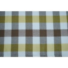Westfalia Curtain Cloth Material Bay Split White/Yellow/Brown as Original C9227