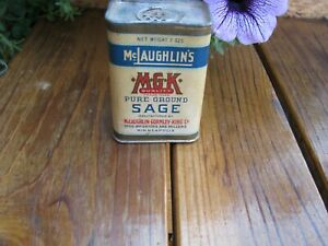 McLAUGHLINS MKG Sage Minneapolis Old Spice Tin