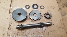 1982 1983 Honda ATC200E starter reduction gear gears shaft assembly