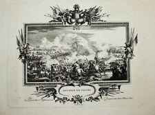 c1704 Cassel France Frankreich Flandern Flandre Leclerc Pacot Kupferstich