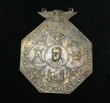 1899 IOOF Independent Order of Odd Fellows 1849-1899 Bronze Medal Vintage
