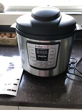 INSTANT POT IP-LUX60 6 L PROGRAMMABLE ELECTRIC PRESSURE /SLOW COOKER 6 IN 1