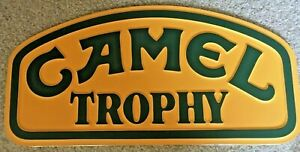 Camel Trophy Roof Plaque - Large - Land Rover Defender/Discovery Plate