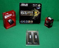 COMBO AMD FX 8320e 4GHz Processor ASUS M5A78L-M+ Motherboard & 16GB RAM & 1TB HD