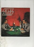 """SKIDS Charade UK 7"""" w/PS PUNK NEW WAVE"""