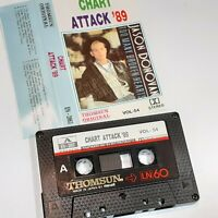 CHART ATTACK 89 THOMSUN IMPORT CASSETTE TAPE ALBUM JASON JACKSON TEXAS DEACON