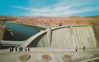 LAM(W) Page, AZ - Glen Canyon Dam - Balcony Overlooking the Dam - Aerial View