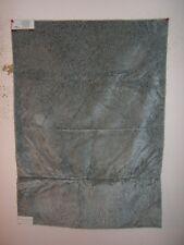 "Lee Joha Groundwork ""Solitare"" animal skin novelty fabric remnant color lake"