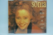 Sonia - You'll Never Stop Me Loving You (2 Track CD Single)