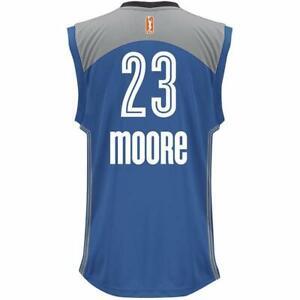 ADIDAS MAYA MOORE Minnesota Lynx Jersey 23 MENS LARGE WOMENS XL BASKETBALL SHIRT