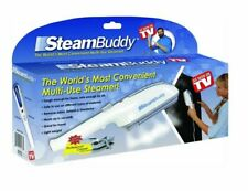 STEAMBUDDY MULTI-USE HANDHELD CLOTHES GARMENT STEAMER WITH CREASER HOME/TRAVEL