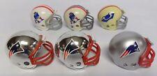 Riddell- NFL Pocket Pro Helmet Boston/New England Patriots >6x Set w/Throwbacks