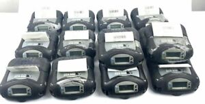 Lot Of 14 Zebra RW420 R4A-0U0A010N -00 Mobile Thermal Printers WORKING