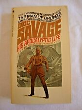 Doc Savage Paperback His Apocalyptic Life Philip Jose Farmer Vintage Great Cond