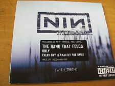 NINE INCH NAILS  WITH TEETH  CD MINT- DIGIPACK