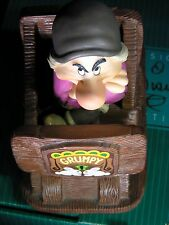"""WDCC Snow White Grumpy """"Hmph! I Ain't Scared"""" NLE 750 Signed by Artist"""