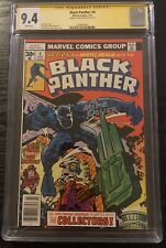Black Panther #4 CGC SS 9.4 Mike Royer 1977 Jack Kirby Art - 1 of 6 Signed!
