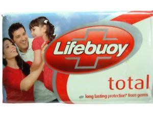 4 Bars Lifebuoy 125gm Lifeboy Lifebouy Soap Total Bars Germ Protection