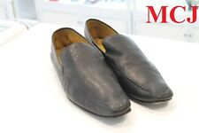 """used"" Hugo Boss Loafer black leather sz10"