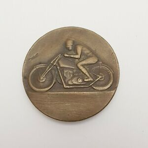 O.053} Motorcycle competition large size badge / 41 mm