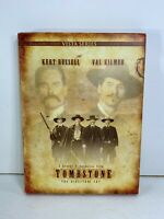 Tombstone The Directors Cut DVD