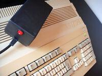 New power supply PSU for Commodore Amiga A500, A500+, A600, A1200 (UK plug)
