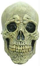 DEATH SKULL NATURAL BONE LOOK FULL LATEX MASK COSTUME TB26408