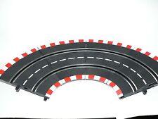 4 Pezzi Carrera Profi Car Racing 71555 Curva ripida 1/90 NUOVO + conf. orig.