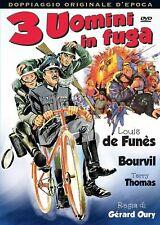 3 UOMINI IN FUGA  DVD COMICO-COMMEDIA