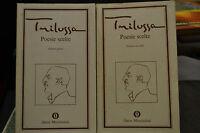 Trilussa, POESIE SCELTE, 2 Volumi, Oscar Mondadori, 1974.