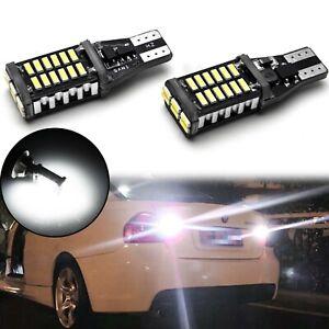 921 912 Error Free White LED Reverse Backup Light Bulbs for Mercedes BMW Audi
