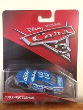 Disney Pixar Cars 3 Dud Throttleman Mood Springs # 33 Mattel Diecast 1:55 Scale