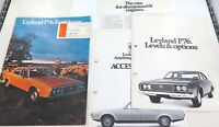 .RARE VINTAGE LEYLAND P76 SELECTION LARGE SALES BROCHURES / ACCESSORIES / SPECS