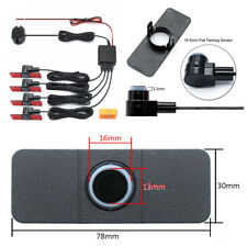 Universal Car SUV 4 Parking Sensors 13mm Reverse Backup Radar Sound Buzzer Alarm