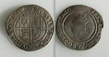Collectable Hammered Silver Elizabeth I Sixpence - Castle Mint Mark - 1571