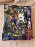 NEW Monster High 13 Wishes Haunt The Casbah Clawdeen Wolf Doll Genie 2012 NEW