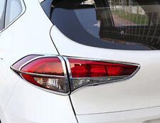 For Hyundai Tucson 2016 2017 2018 ABS Chrome Rear Tail Light Lamp Cover trim