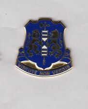 US ARMY 108th INFANTRY REGIMENT crest DUI badge Clutchback G-23