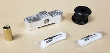 SR Billet 2-Piece Shifter & Energy D-Series Bushing Combo D15 D16 SOHC Black